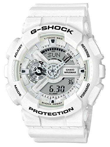 [カシオ] 腕時計 ジーショック マリンホワイト GA-110MW-7AJF メンズ ホワイト