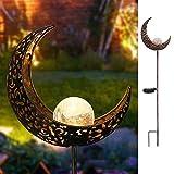 Lampe solaire nulala pour jardin, en fer forgé, étanche, décoration de jardin, convient pour les races, les terrasses ou les cours.