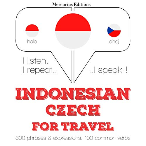 Indonesian – Czech. For travel cover art