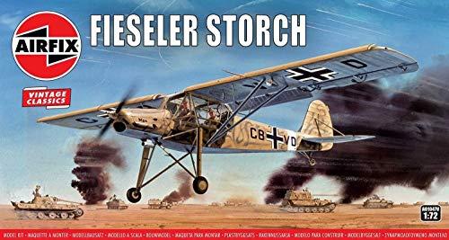 Airfix A01047V 1/72 Fieseler Storch Modellbausatz, Sortiert, 1: 72 Scale