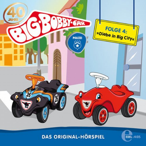 Diebe in Big City (BIG Bobby Car 4) Titelbild