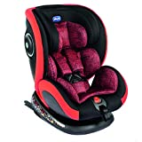 Chicco Seat 4 Fix Group 0+ 1 2 3 Car Seat - Poppy Red