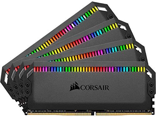 Corsair Dominator Platinum RGB 32GB DDR4 3600MHz Memory Module (32GB, 4X 8GB, DDR4, 3600MHz, 288-pin DIMM)