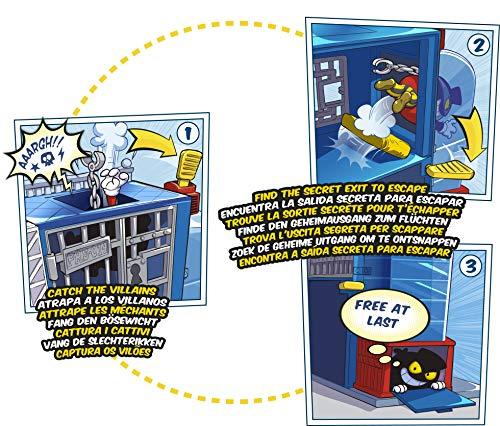 51xFV5NbgPL - SuperZings - Estación de Policía (PSZSP112IN01) con 2 Exclusivas Figuras y 1 Moto