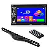Premium Pyle 6.5-Inch Double Din Car Stereo with Bluetooth Receiver Headunit,...