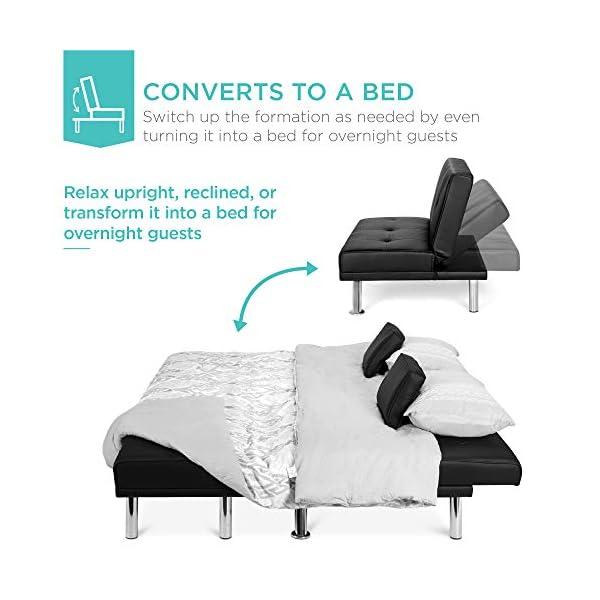 Best Choice Products 3-Piece Modular Modern Living Room Sofa 3