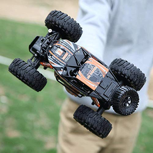 Lotees Offroad-RC-Trucks RC Car 4WD Offroad-Fernbedienung Car1 / 14-Skala 2,4 GHz Funk-Fernbedienung Auto Spielzeug High Speed Truck Off-Road-Spielzeug Geschenke for für Erwachsene und Kinder