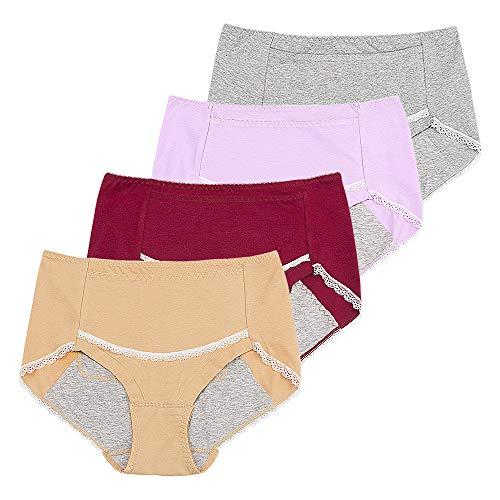 Menstruationsslip für Damen, auslaufsicher, nach der Geburt, einfach zu reinigen, Höschen für Frauen und Mädchen -  -  Klein