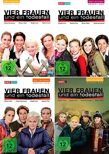 Vier Frauen und ein Todesfall - Die komplette 5. - 8. Staffel (8-DVD)