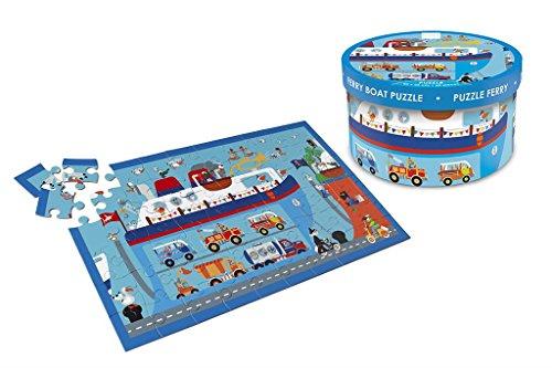 Scratch Europe- Rompecabezas de Barco de Ferry (6181075)