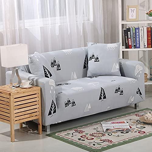 Funda de sofá elástica para Sala de Estar, Funda de sofá, Asiento de Soplo, decoración del hogar, sofá de Esquina, Montaje de sofá, Funda A4, 3 plazas