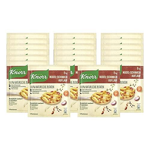 Knorr Natürlich Lecker Nudel-Schinken Auflauf Fix 3 Portionen (22 x 45 g)
