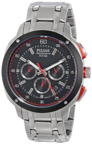 [パルサー]Pulsar 腕時計 Analog Display Japanese Quartz Silver Watch PT3395 メンズ [並行輸入品]