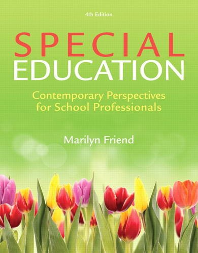 Special Education: Contemporary Perspectives for School Professionals, Loose-Leaf Version (4th Edition)