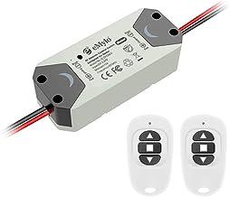eMylo DC 12V 2CH Relé sem fio RF Controlador do interruptor do interruptor de controle remoto 5V-24V 433Mhz Suporte Portas...