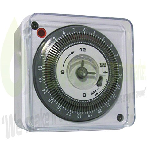 Lowenergie Immersion Heater Timer - Mechanical 24 hour Timer Switch
