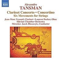 Clarinet Concerto/Concertino/Six Movements for Str