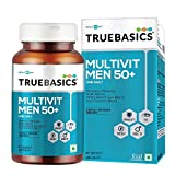 TrueBasics Multivit Men 50+ One Daily, Multivitamins, Multiminerals, Anti-oxidants with Brain, Eye