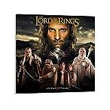 BAOMIHUA Aragorn Herr der Ringe Poster Dekorative Malerei