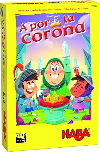 Haba Juego de Mesa A por la Corona-ESP, Multicolor (H305246)