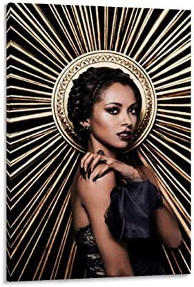 NWWR The Vampire Diaries TV Series Kat Graham Posters Canvas Art Poster and Wall Art Picture product image