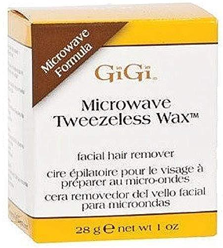 GiGi Mikrowellen Tweezeless Wachs 1 oz (Packung mit 3)