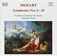Symphonies 6-10 by MOZART (1995-07-05)