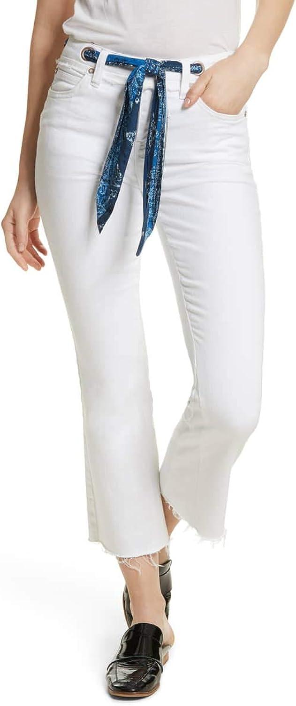 Free People Women's Belt Our Crop Bootcut Jeans