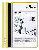DURABLE Hunke und Jochheim Angebotshefter DURAPLUS®, strapazierfähige Folie, DIN A4, gelb
