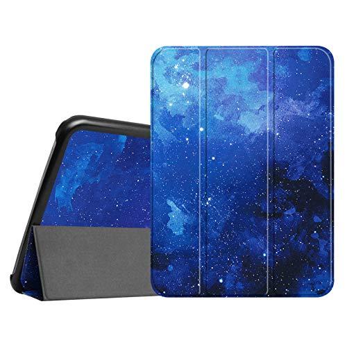 Fintie Hülle für Samsung Galaxy Tab 4 10.1 SM-T530 SM-T535 - Ultra Schlank Superleicht Ständer SlimShell Cover Schutzhülle Etui Tasche mit Auto Schlaf/Wach Funktion, Sternenhimmel