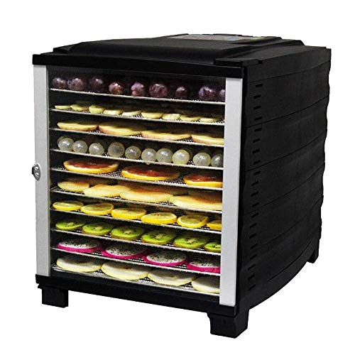 Fantastic Deal! Commercial Food Dehydrator Machine Easy Setup Digital Adjustable Timer and Temperatu...