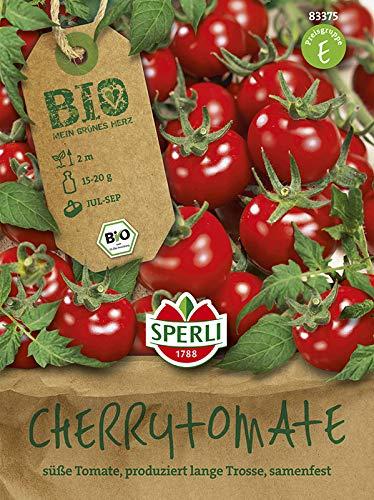 BIO Tomate Zuckertraube Cherrytomate rot