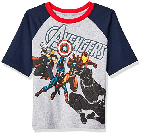 Marvel Boys Avengers Movie T-Shirt, Avengers Super Hero Movie T-Shirt for Boys
