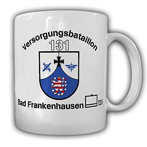 VersBtl 131 Versorgungsbataillon Bad Frankenhausen Kyffhäuser-Kaserne Bundeswehr Logistik Versorger Wappen Abzeichen - Tasse Kaffee Becher #17494
