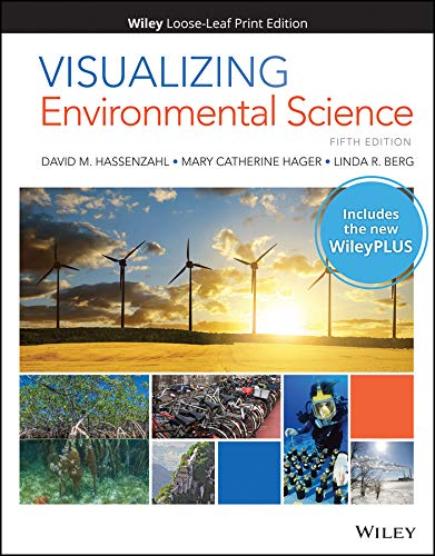 Compare Textbook Prices for Visualizing Environmental Science, 5e WileyPLUS Card with Loose-Leaf Set 5 Edition ISBN 9781119491477 by Hassenzahl, David M.,Hager, Mary Catherine,Berg, Linda R.