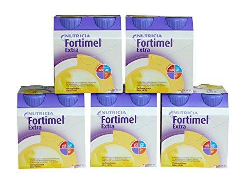 Fortimel Extra Vanille 6x4x200 ml eiweißreich hochkalorisch 1,6 kcal/ml