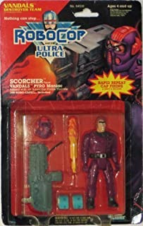 Robocop and the Ultra Police Scorcher Vandals Pyro Maniac by Kenner