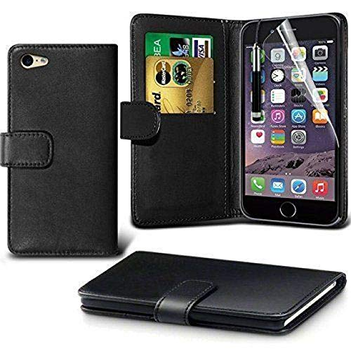 GUPi Funda para iPhone 6, iPhone 6S, color negro