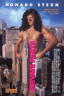 private parts movie poster