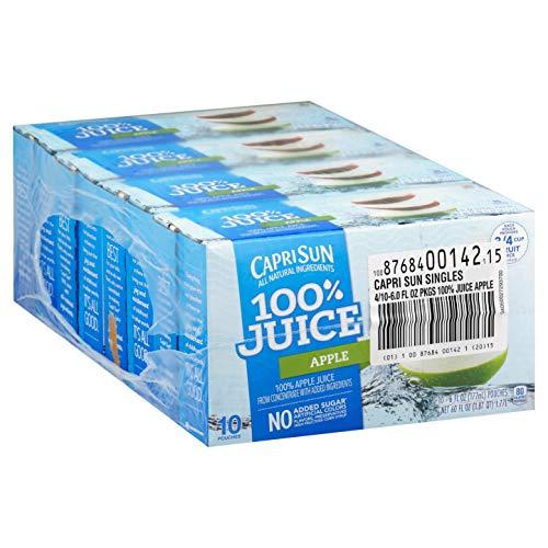 Capri Sun 100% Apple Juice Ready...