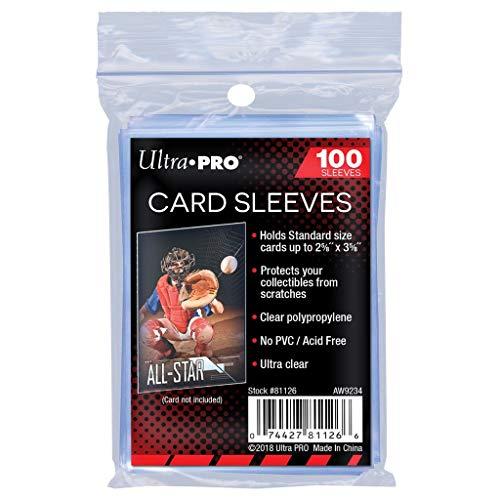 Ultra Pro Sleeves - Accesorios para tarjetas, pack de 100
