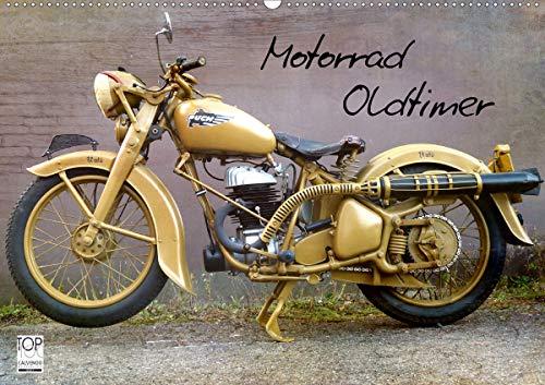 Motorrad Oldtimer (Wandkalender 2021 DIN A2 quer)