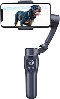 WZHZJ Phones Stabilizer 3-Axis Handheld Smartphone Bluetooth Stabilizer Gimbal Camera