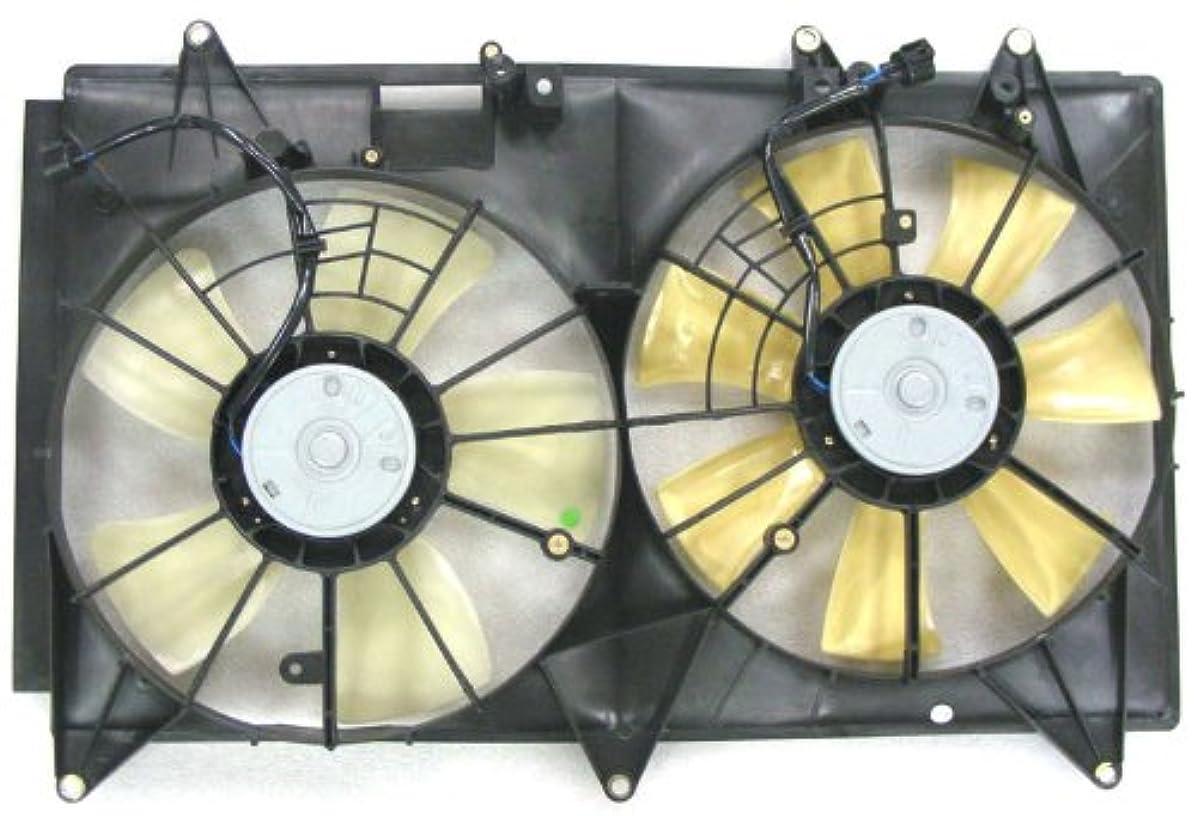 Depo 316-55031-000 Dual Fan Assembly