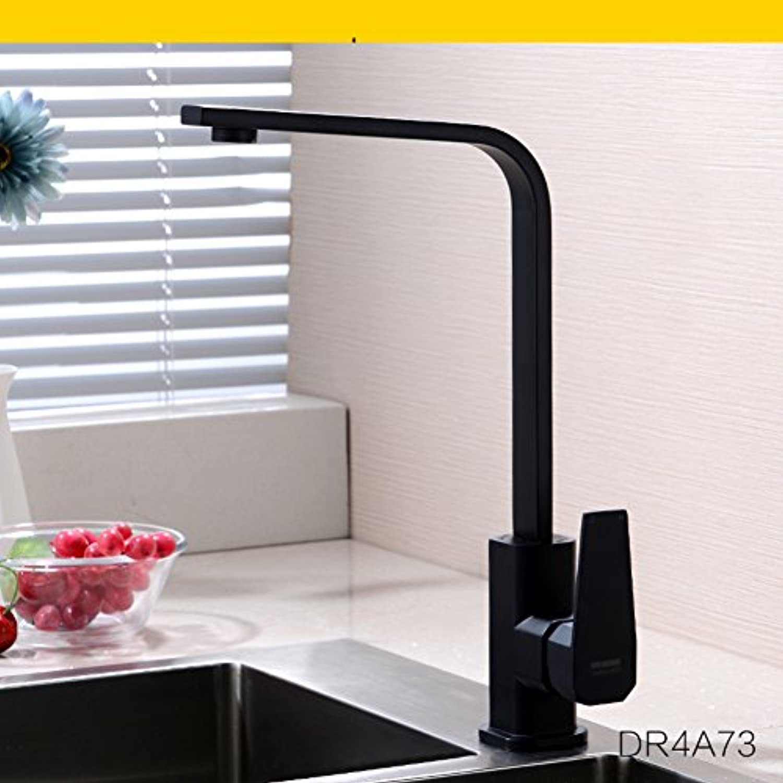 Aich Moderne schwenkbaren wasserhahn Edelstahl wasserhahn Bronze Hei und kalt Edelstahl Drehbar Küchenarmatur-C