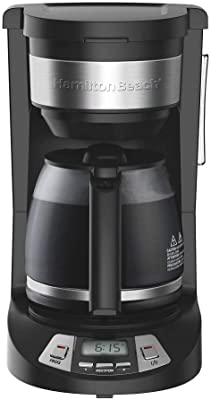 Hamilton Beach 12 Cup Programmable Coffee Maker 52580270 46290