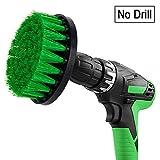 Spin Scrubber Spazzola elettrica, spazzola pulitrice con attacco per il trapano, adatta per la pulizia di auto, bagno, pavimenti in legno, lavanderia.