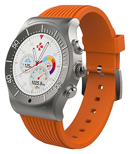 MyKronoz KRZESPORT - TITANIUM/ORANGE Smartwatch