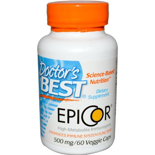 Epicor, 500 mg, 60 Veggie Caps - Arzt Besten