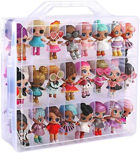 ALKOO Tasche fur LOL 557067E7C #Hairgoals Doll - Makeover Series 2 - Nur Organizer Box